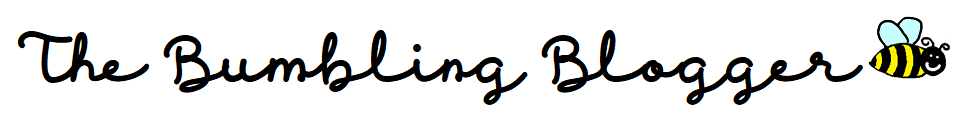 The Bumbling Blogger header