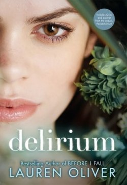 Delirium by Lauren Oliver cover