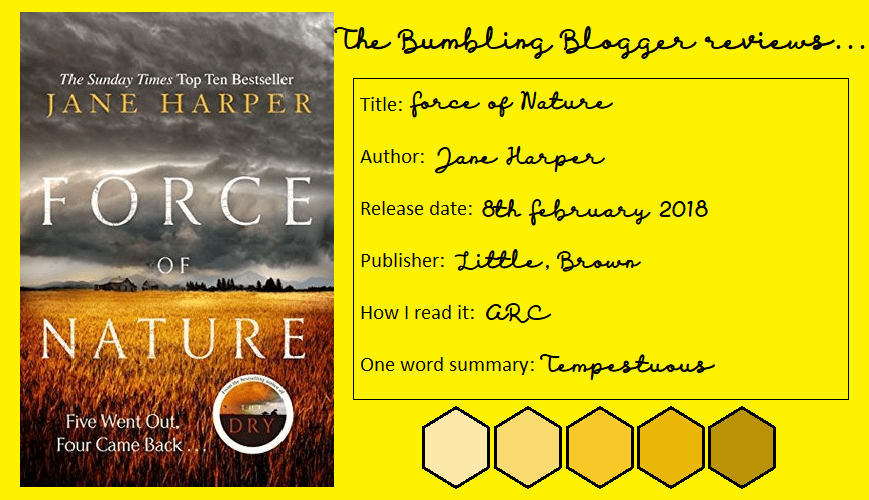 Force of Nature by Jane Harper review