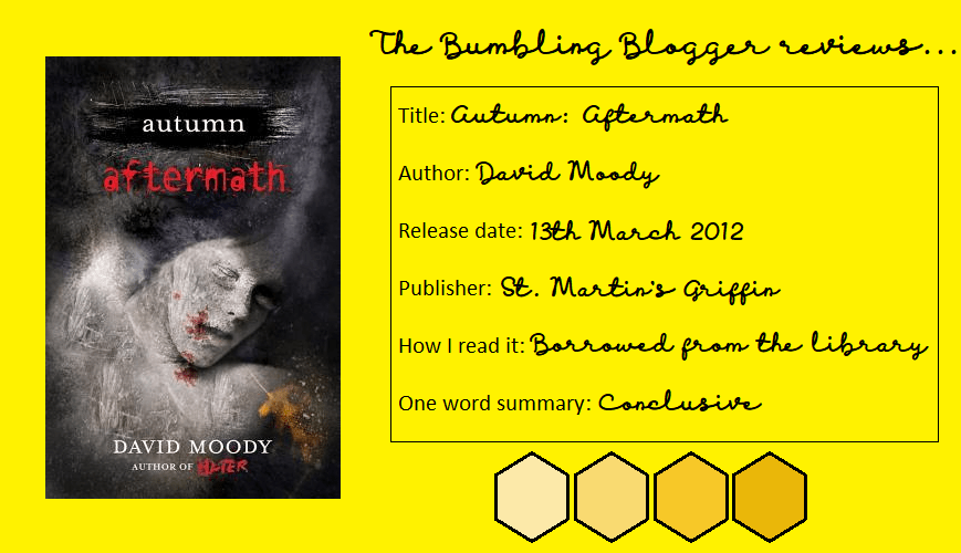 Review: Autumn: Aftermath by David Moody