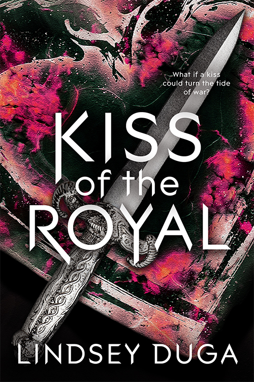 Kiss of the Royal by Lindsey Duga cover reveal