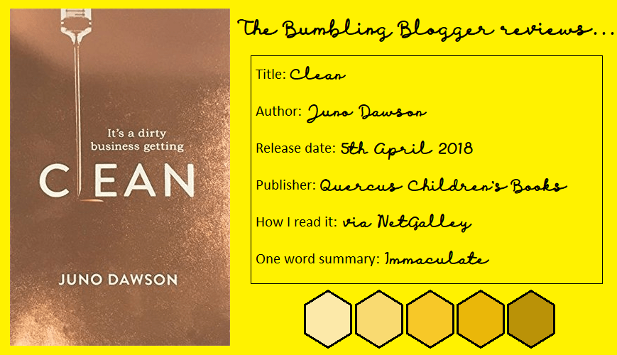 Review: Clean by Juno Dawson