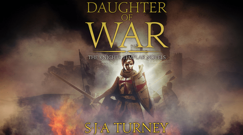 Daughter of War by S.J.A. Turney cover