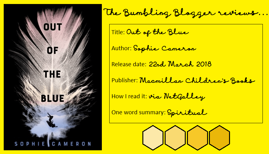 Review: Out of the Blue by Sophie Cameron