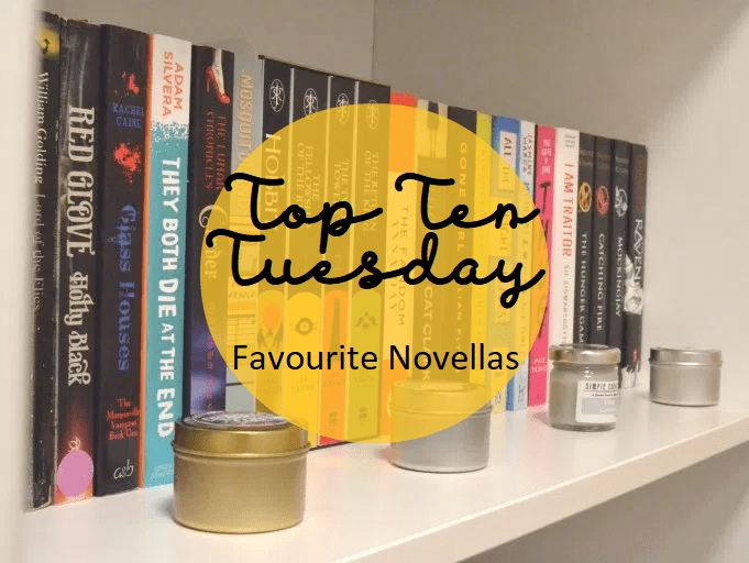 Top Ten Tuesday: Favourite novellas