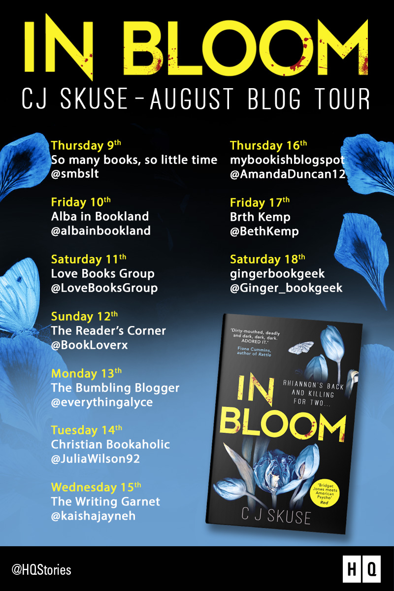 Blog tour: In Bloom by C.J. Skuse