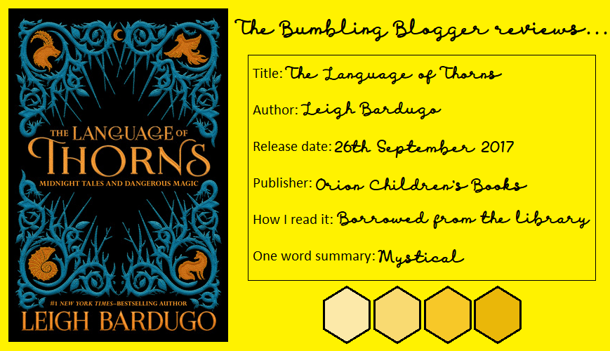 Review: The Language of Thorns by Leigh Bardugo