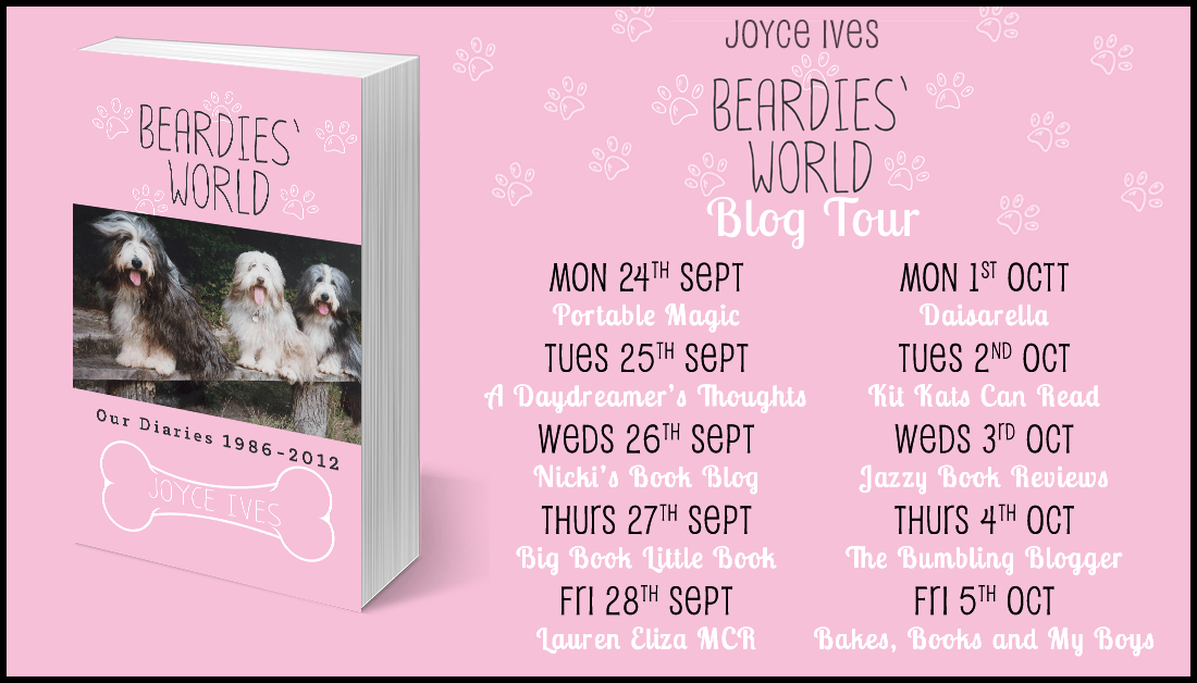 Blogtober Day 4: Blog tour: Beardies' World by Joyce Ives