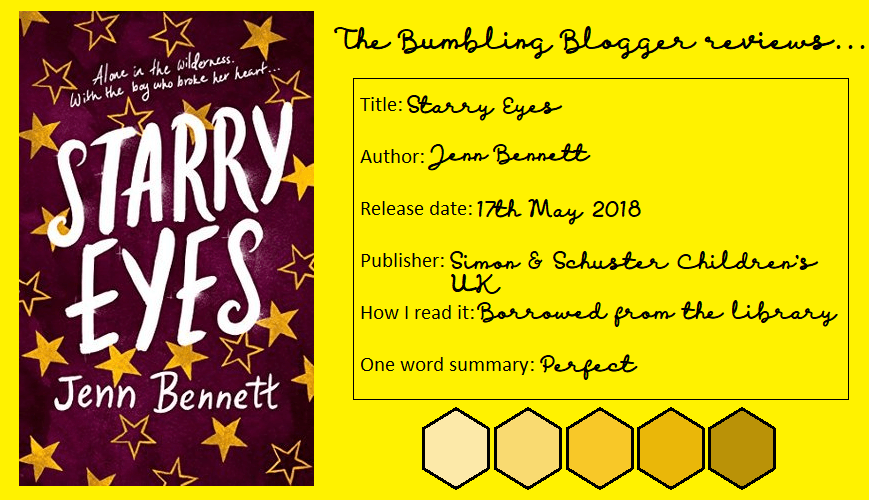 Blogtober Day 12: Review: Starry Eyes by Jenn Bennett