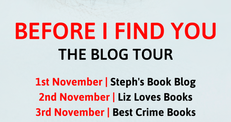 Blog tour: Before I Find You by Ali Knight