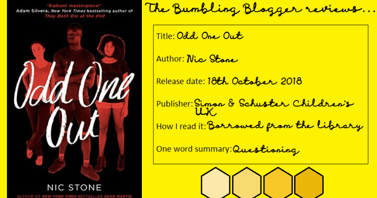 Review: Odd One Out by Nic Stone