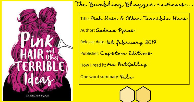 Review: Pink Hair and Other Terrible Ideas by Andrea Pyros