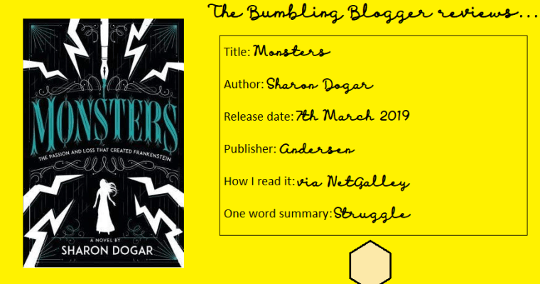Review: Monsters by Sharon Dogar