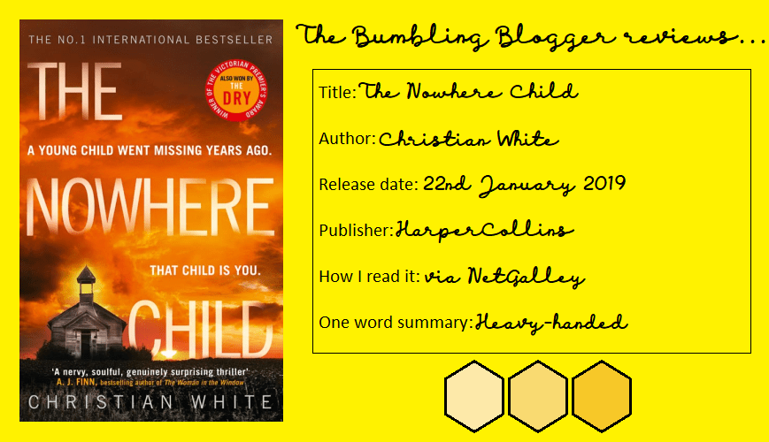 Review: The Nowhere Child by Christian White