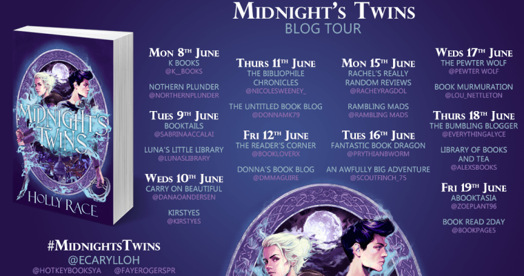 Blog tour: Midnight's Twins by Holly Race