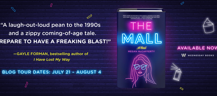 Blog tour: The Mall by Megan McCafferty