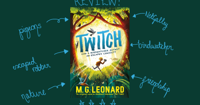 REVIEW: Twitch by M.G. Leonard