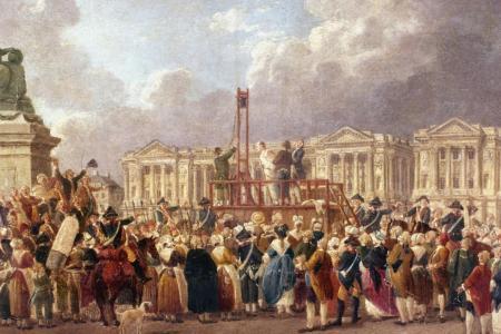 Une exécution capitale, place de la RévolutionDemachy, Pierre-Antoine