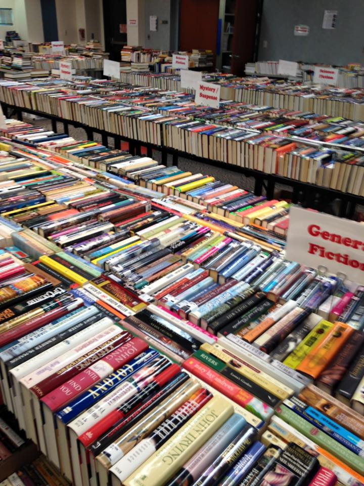 ashburn library book sale
