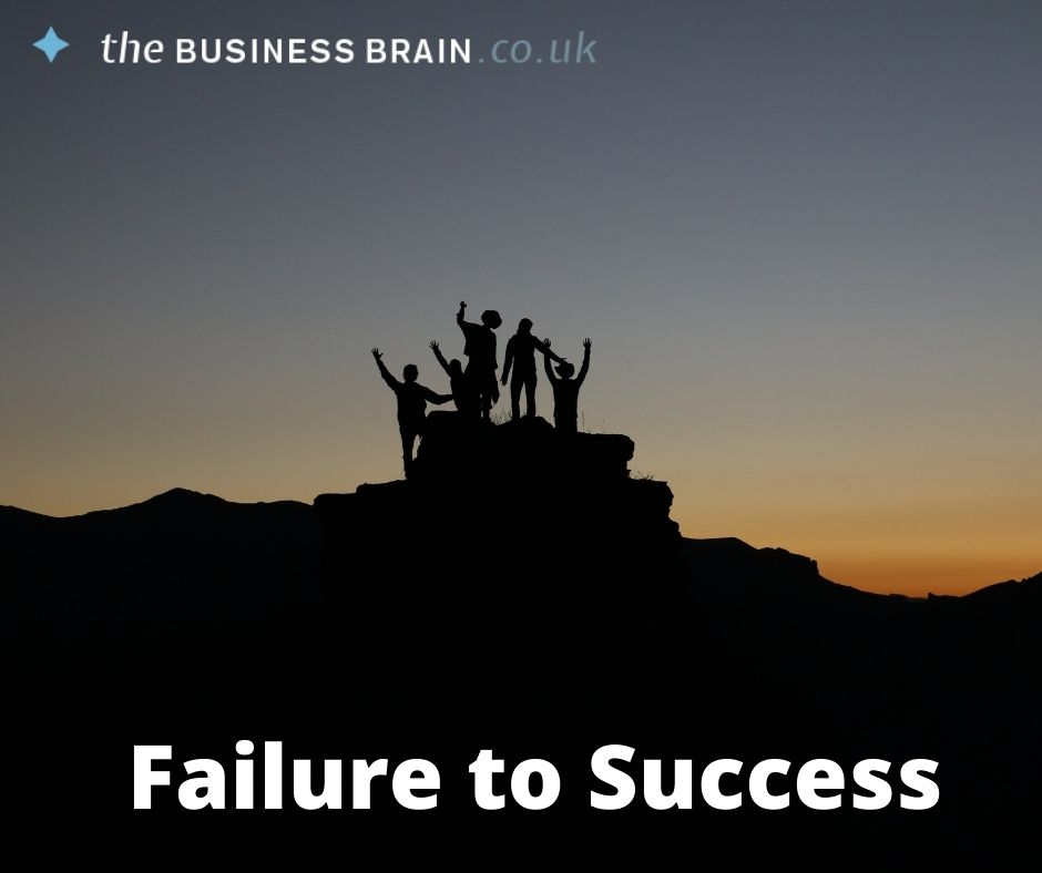 Leverage the Power of Failure to Achieve Unlimited Success