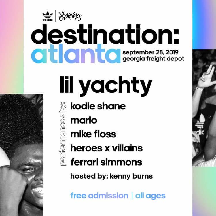 Lil Yachty to Headline 'Destination: Atlanta' Festival