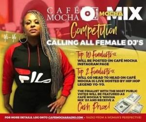 West Coast Hip-Hop Queen YO-YO Launches Mocha Mix Competition