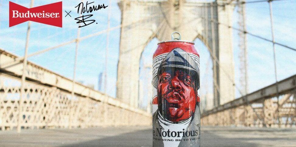 The Notorious B.I.G. Is Featured on Limited Edition Budweiser Cans