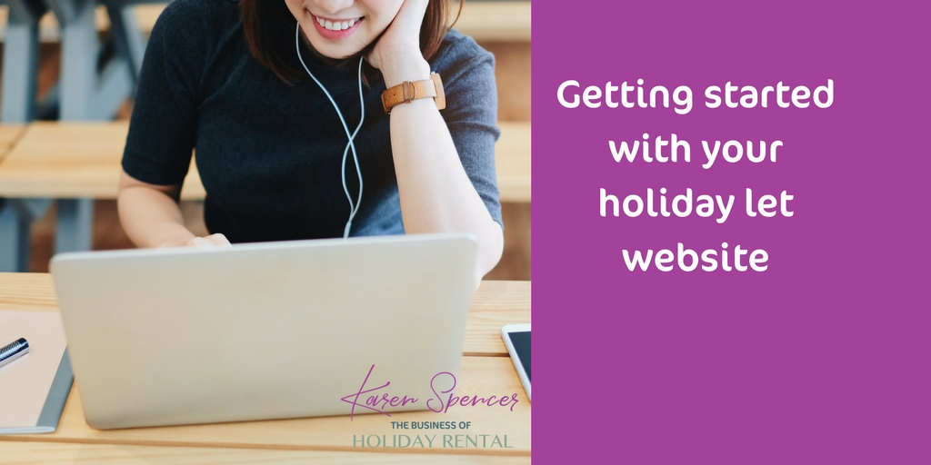 Getting Started With Your Holiday Let Website