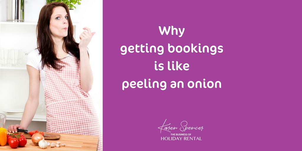 Why Getting Bookings Is Like Peeling An Onion