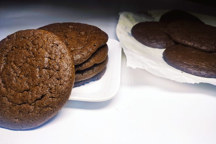 fudgy chocolate brownie cookies