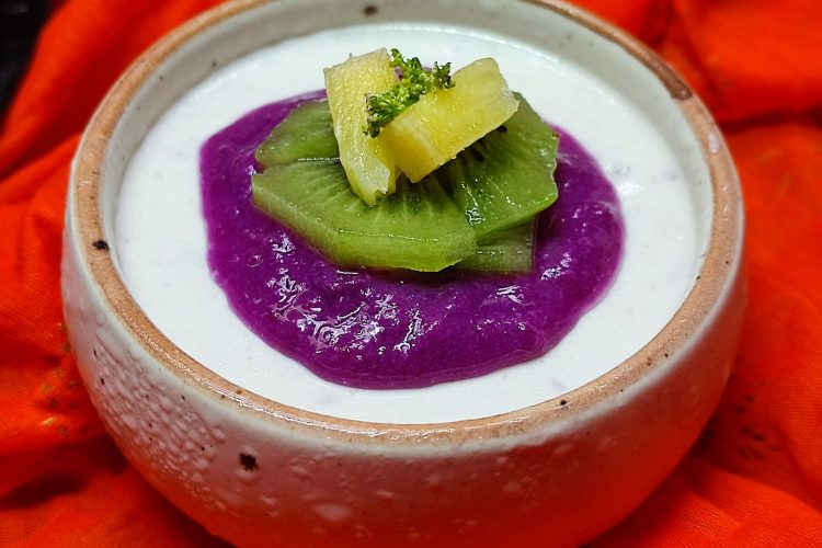 baked jamun yogurt