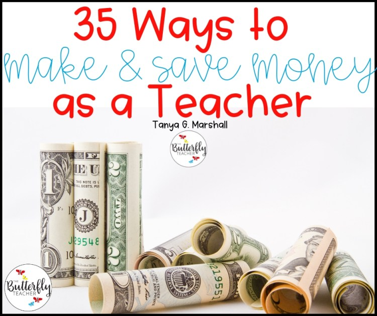 how to make and save money as a teacher