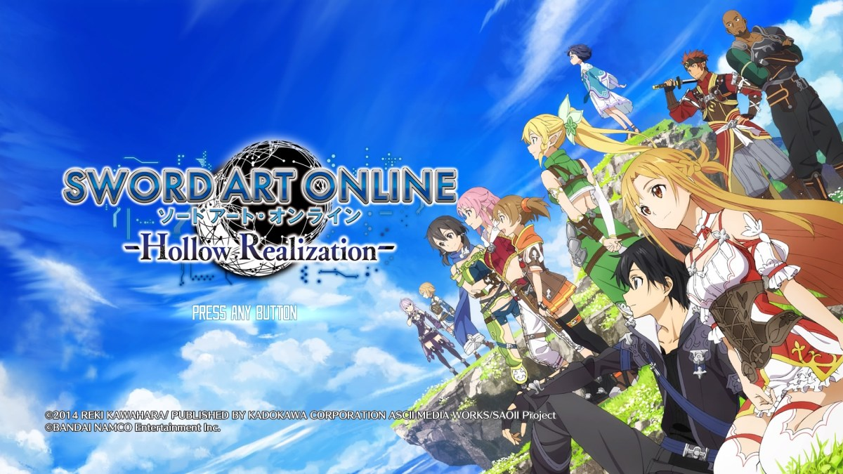 Game Review | Sword Art Online: Hollow Realization - The Buttonsmashers