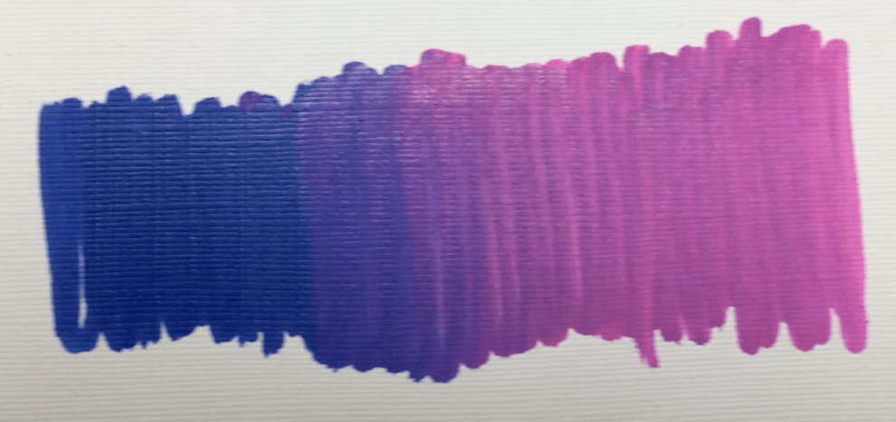 arteza paint marker honest review blend test 2