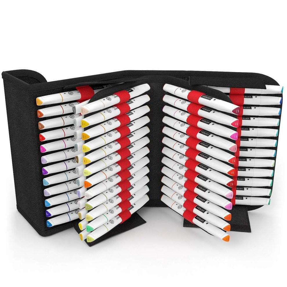 arteza everblend marker review set organization
