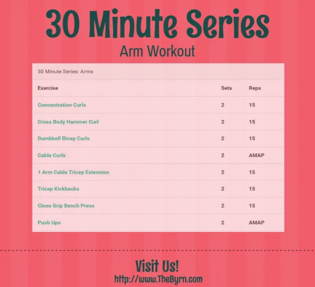 30 Minute Series: Arm Routine