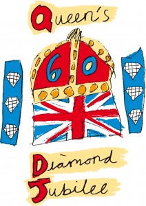 Queens Diamond Jubilee Emblem
