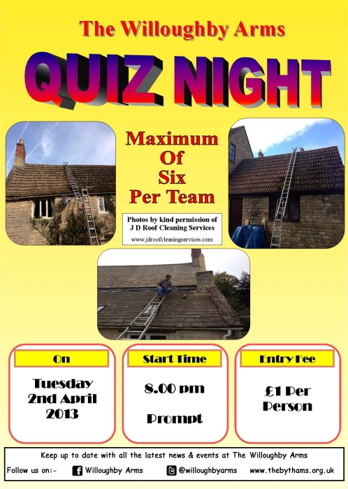 willoughby quiz poster (02-04-13)
