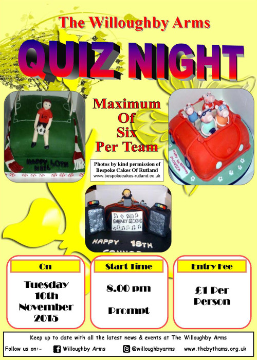 Pub quiz poster (10-11-2015)