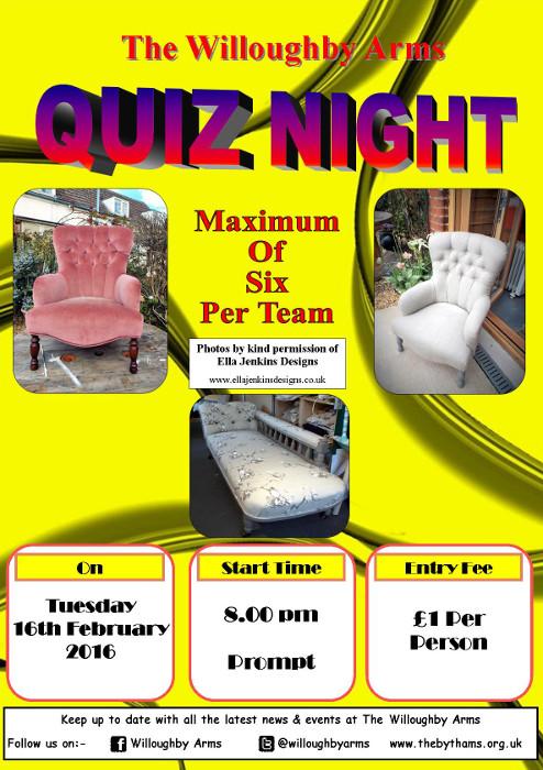Pub quiz poster (16-02-2016)