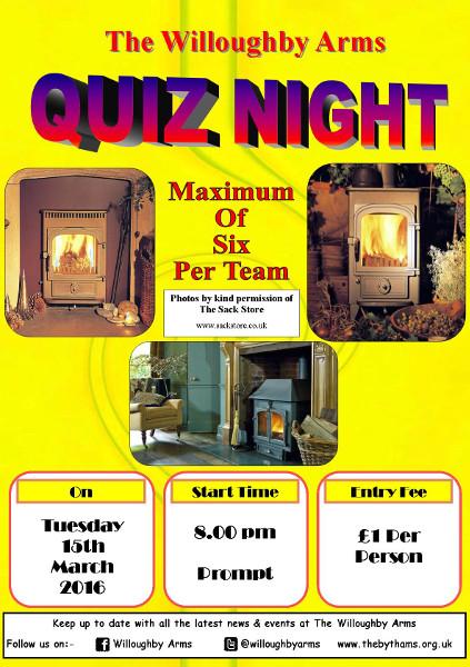 Pub quiz poster (15-03-2016)