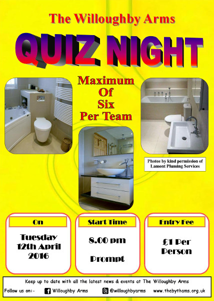 Pub quiz poster (12-04-2016)
