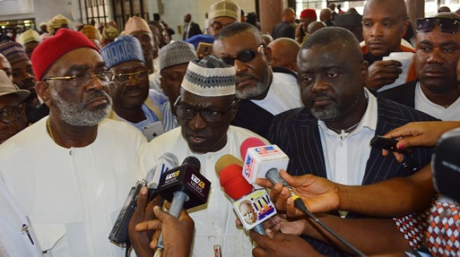 Image result for If I leave PDP, I would quit politics, says Makarfi