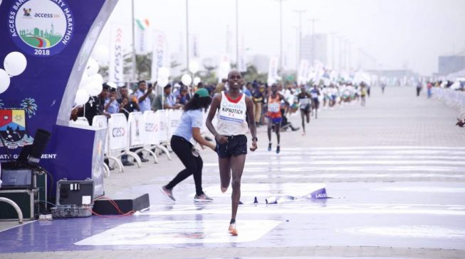 Kiprotich, Kenya-born French athlete, wins Lagos City Marathon