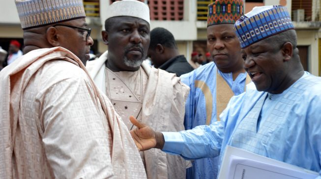 Image result for N30,000 minimum wage will collapse our states and lead to bankruptcy – Govs