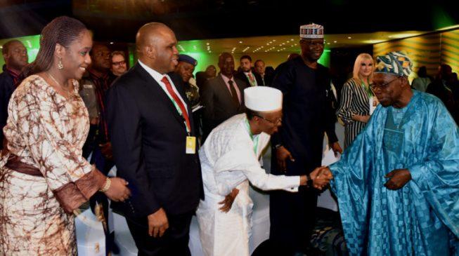 Drama as Obasanjo shuns VIP seat at Abuja event