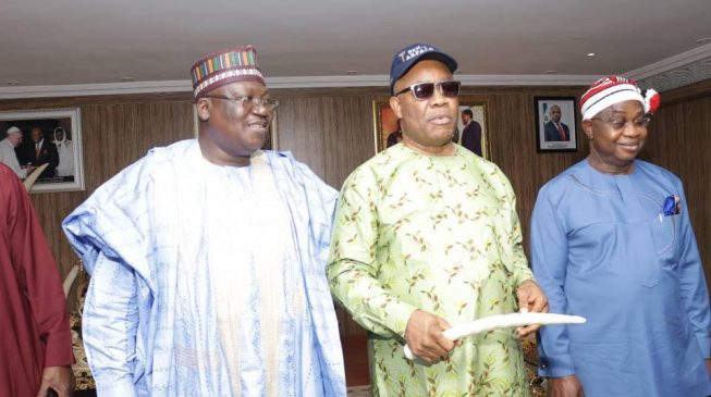 Image result for Akpabio joins APC, says 'EFCC found nothing on me'