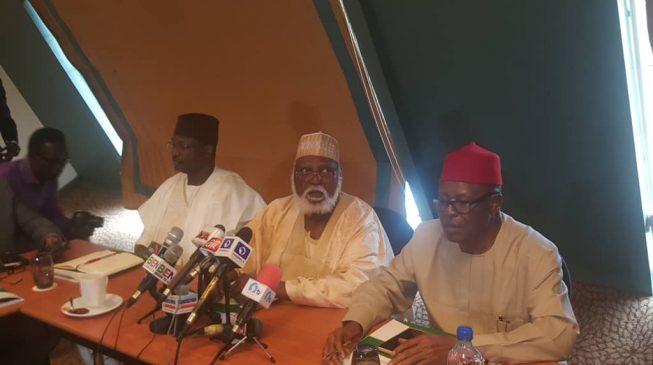Abdulsalami peace committee meets INEC chairman ahead 2019 polls