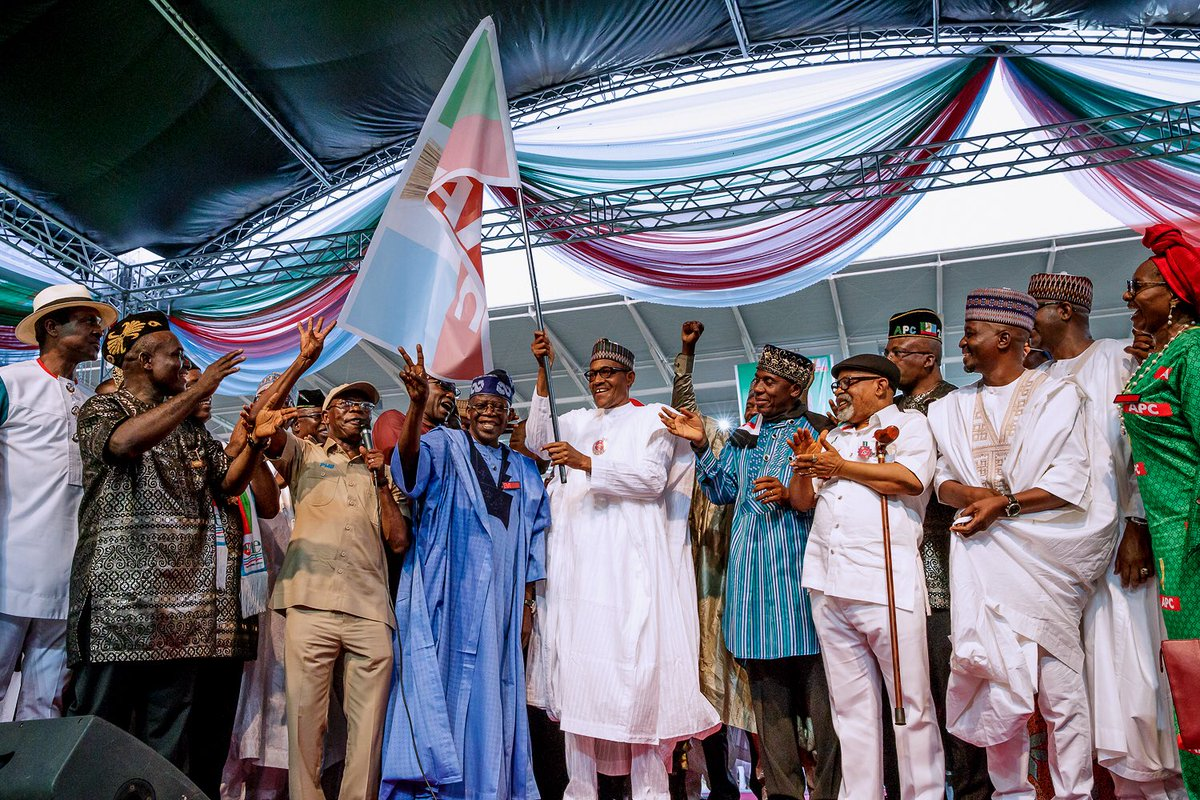 Image result for CUPP on reelection campaign: Buhari and APC are acting without shame