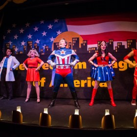 The Gaslight Theatre:  The Freedom League of America and a Giveaway!
